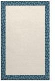 rug #1046914 |  plain blue-green rug