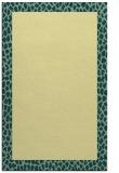 rug #1046938 |  plain yellow rug
