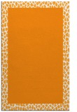 rug #1046966 |  light-orange borders rug