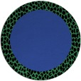 rug #1047174 | round plain black rug
