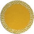rug #1047291 | round plain rug