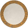 rug #1047339 | round borders rug