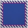 rug #1047814 | square plain blue-violet rug