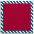 rug #1047830 | square plain red rug