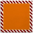 rug #1047918   square plain orange rug