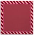 rug #1047938 | square plain pink rug