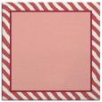 rug #1047942 | square plain pink rug