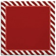 rug #1047970 | square plain red rug