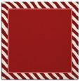 rug #1047970 | square red animal rug