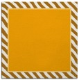 rug #1048062 | square light-orange animal rug
