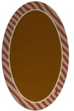 rug #1048227 | oval stripes rug