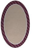 rug #1048242 | oval plain pink rug