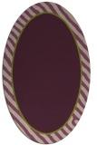 rug #1048253 | oval borders rug