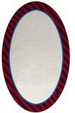rug #1048333 | oval stripes rug