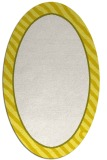 rug #1048370 | oval plain white rug