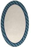 rug #1048386 | oval plain white rug