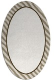 rug #1048390 | oval plain white rug