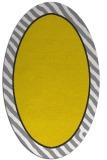 rug #1048402 | oval white stripes rug