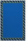 rug #1048478 |  plain blue rug