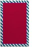 rug #1048566 |  plain red rug
