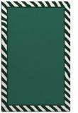 rug #1048582    plain blue-green rug