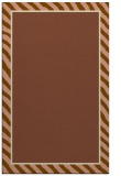 rug #1048594 |  plain mid-brown rug