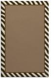 rug #1048602 |  plain mid-brown rug