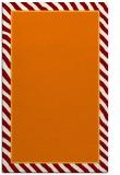 rug #1048654    plain orange rug