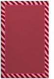 rug #1048674 |  plain pink rug