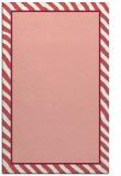 rug #1048678 |  plain pink rug