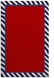 rug #1048698 |  plain red rug