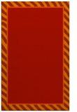 rug #1048702 |  plain red rug