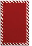 rug #1048706 |  plain red rug
