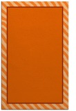 rug #1048718 |  red-orange stripes rug