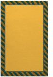 rug #1048774 |  yellow borders rug