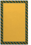 rug #1048774 |  plain light-orange rug
