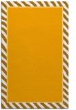 rug #1048798 |  plain light-orange rug