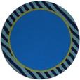 rug #1048846 | round plain blue rug
