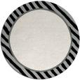rug #1048958 | round plain black rug