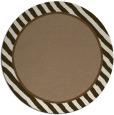 rug #1048970 | round plain beige rug