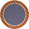 rug #1048983 | round plain rug
