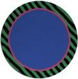 rug #1049014 | round plain black rug