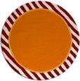 rug #1049022   round orange borders rug