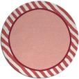 rug #1049046 | round plain white rug