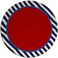 rug #1049066   round plain red rug