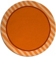 rug #1049086 | round red-orange rug