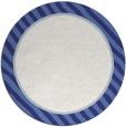 rug #1049110 | round blue animal rug