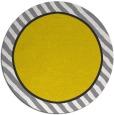 rug #1049138 | round yellow animal rug