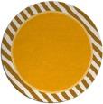 rug #1049166 | round light-orange animal rug