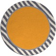rug #1049178 | round plain light-orange rug